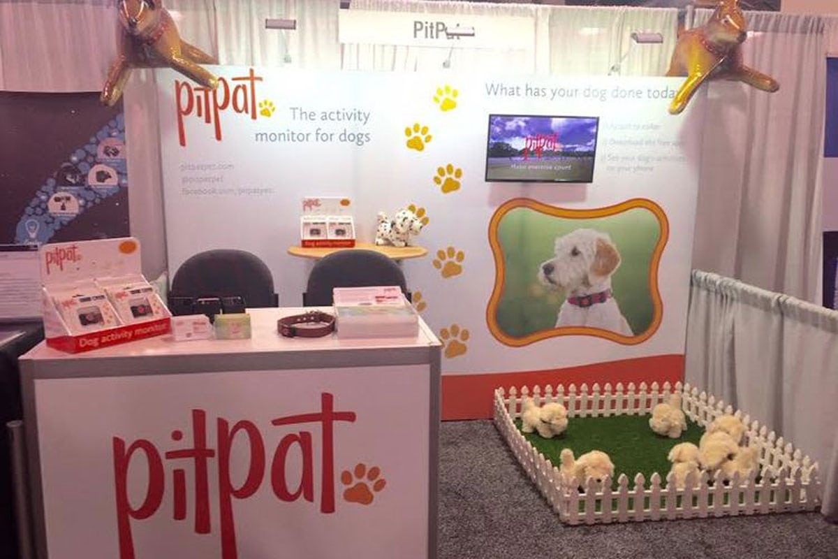 PitPat stand at CES